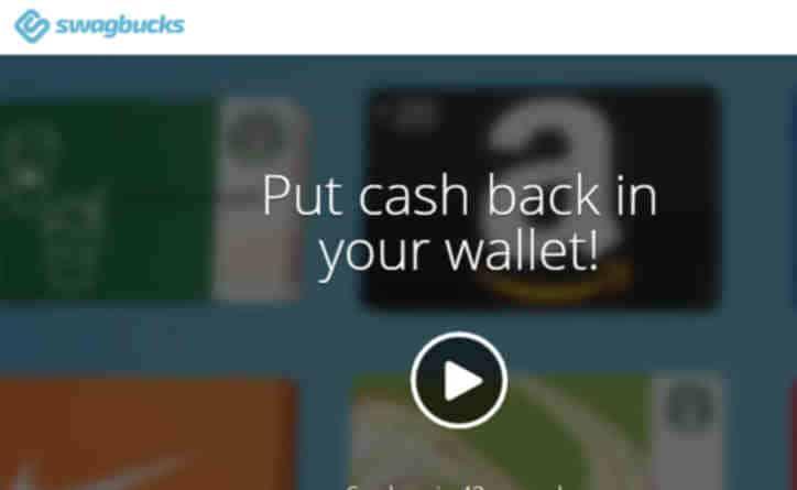 Earn money online with surveys - swagbucks