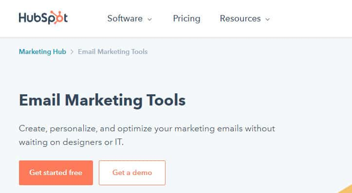 Free Online Email Marketing Services - Hubspot